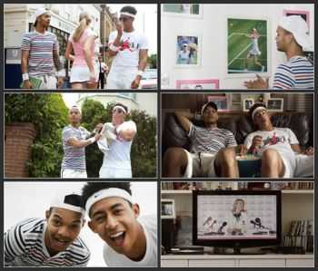 Evian & Rizzle Kicks ft. Maria Sharapova - Tell Her (2014)