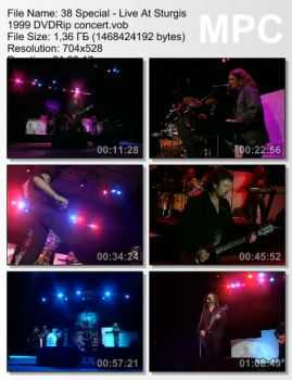 38 Special - Live At Sturgis (1999) DVDRip