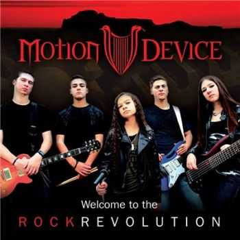 Motion Device    - Welcome To The Rock Revolution [EP] (2014)