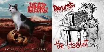 Dead Infection & Parricide - Looking For Victims & The Idealist (Split) (2014)
