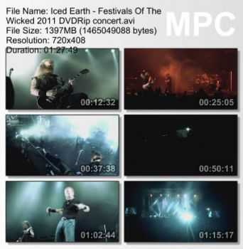 Iced Earth - Festivals Of The Wicked (2011) DVDRip
