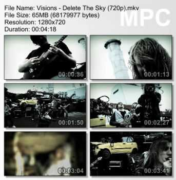 Visions - Delete The Sky (2009)
