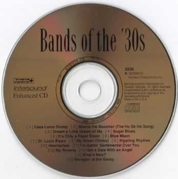 VA - Bands Of The '30s (1996)