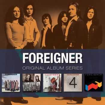 Foreigner - First Five Albums (Original Album Series) (2009)