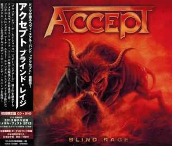 Accept - Blind Rage (Japanese Edition) (2014)