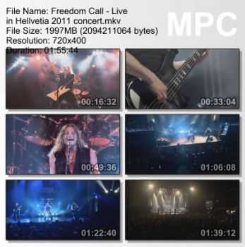 Freedom Call - Live in Hellvetia (2011) DVDRip