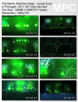 Machine Head - Locust (Live In Portugal) (2011)
