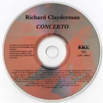Richard Clayderman - Concerto With The Royal Philharmonic Orchestra (1998)
