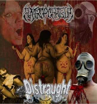 Distraught & Antropofagia - 2 Ways Split (2012)