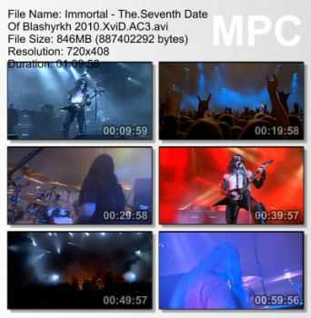 Immortal - The Seventh Date Of Blashyrkh (2010) DVDRip