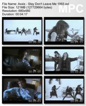 Axxis - Stay Don't Leave Me (1993)