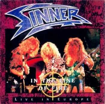 Sinner - In The Line Of Fire (Live In Europe) (1995) Mp3+Lossless