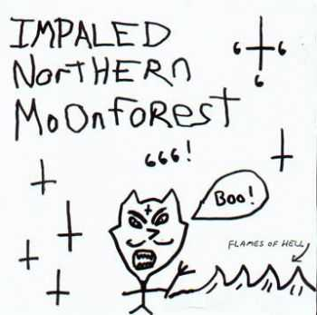 Impaled Northern Moonforest - Flames of Hell (1997)