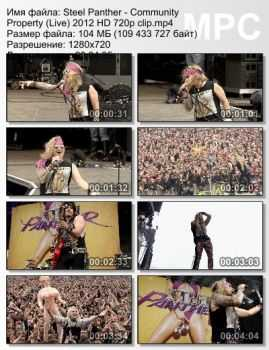 Steel Panther - Community Property (Live) (2012)