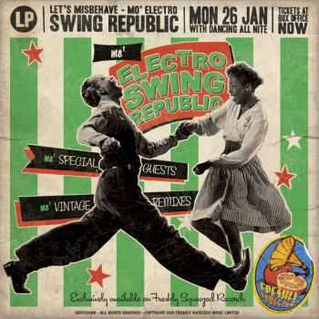 Swing Republic – Mo' Electro Swing Republic Let's Misbehave (2015)