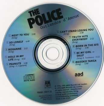 The Police - Outlandos d'Amour (1978)