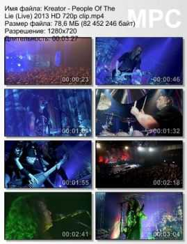 Kreator - People Of The Lie (Live) (2013)