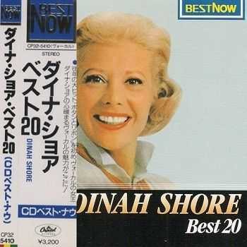 Dinah Shore - Best 20 (Japan Edition) (1987)