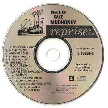 Mudhoney - Piece Of Cake (1992) (Lossless+Mp3)