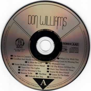 Don Williams - The 30th Anniversary Platinum Edition-Greatest Hit Best Audiophile (2011)