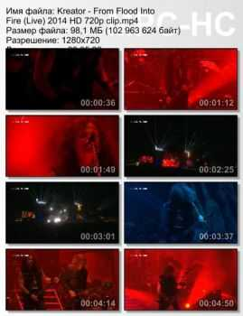 Kreator - From Flood Into Fire (Live) (2014)
