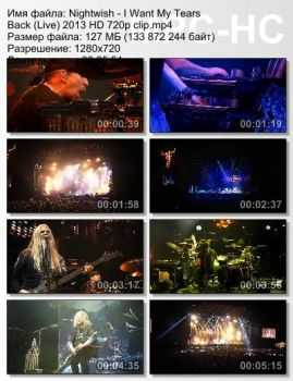 Nightwish - I Want My Tears Back (Live) (2013)