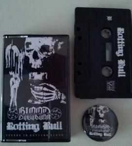 Blood Division / Rotting Bull - Cursed in Rotting Blood [split] (2013)