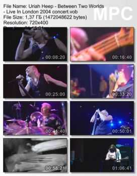Uriah Heep - Between Two Worlds - Live In London (2004) DVDRip