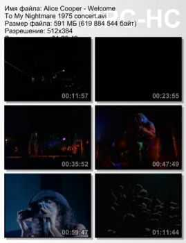Alice Cooper - Welcome To My Nightmare (1975) DVDRip