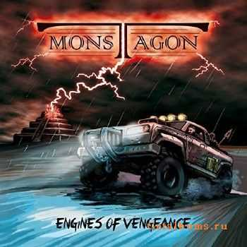 Monstagon - Engines Of Vengeance (2015)