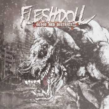 Fleshdoll - Blood Red District (2015)