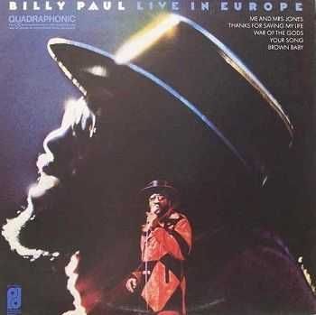 Billy Paul - Live In Europe [DVD-Audio] (1974)