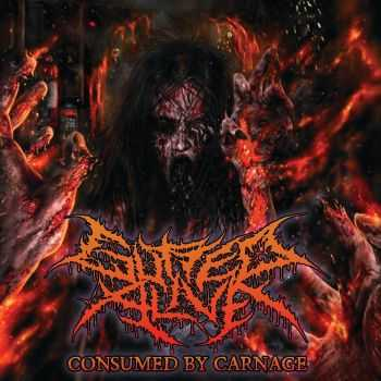 Gutted Alive - Consumed By Carnage (2015)