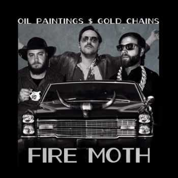 Fire Moth - Oil Paintings & Gold Chains (2014)
