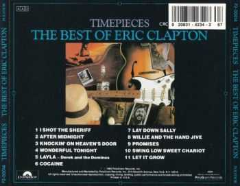 Eric Clapton - Timepieces - The Best Of Eric Clapton (1982/ 1992)