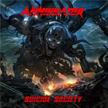 Annihilator - Suicide Society (Japanese Deluxe Edition) (2015)