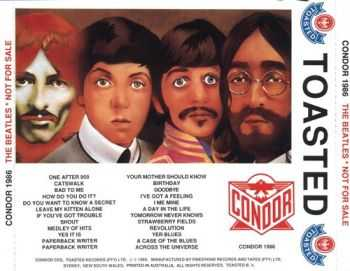 The Beatles - Not For Sale 1962-1967 (1989) (Lossless+Mp3) (Bootleg)