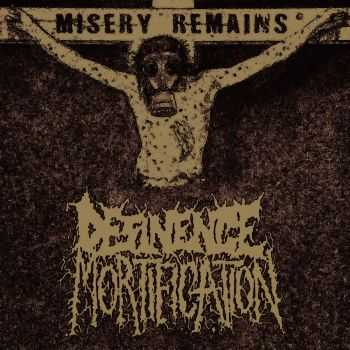 Desinence Mortification - Misery remains (2015)