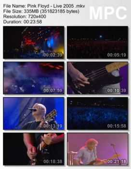 Pink Floyd - Live At Live (2005) (DVDRip)