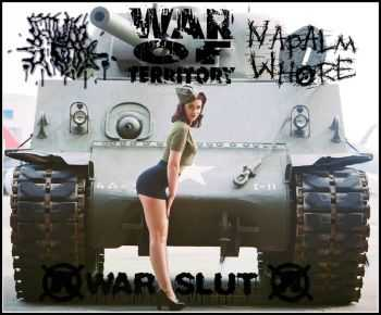 Cum Book & War Of Territory & Napalm Whore - War Slut (Split) (2015)