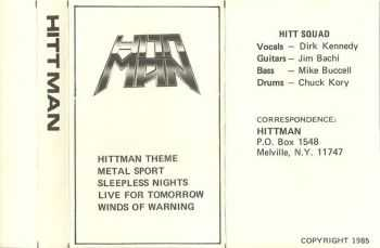 Hittman - Metal Sport 1985 (Demo)
