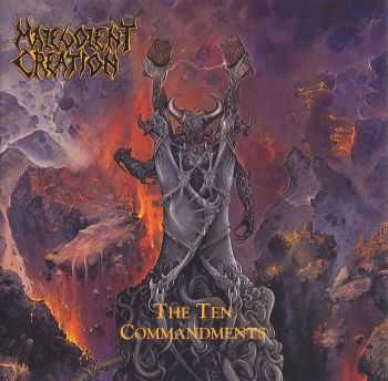 Malevolent Creation - The Ten Commandments (1991) (LOSSLESS)