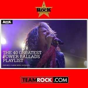 TeamRock Present - The 40 Greatest Power Ballads (2015)