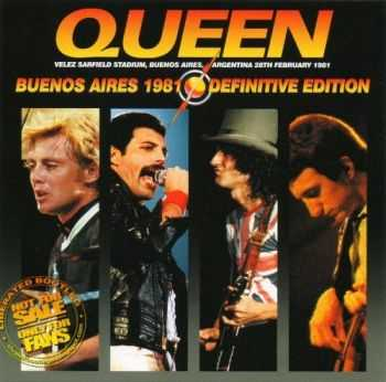 Queen - Buenos Aires 1981 [Definitive Edition] (2014) Lossless