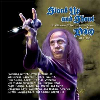VA - Stand Up And Shout: A Tribute To Ronnie James Dio (2015)