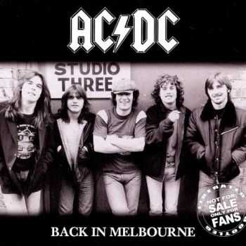 AC/DC - Back In Melbourne (1981) (Bootleg) [Lossless]