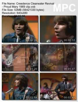 Creedence Clearwater Revival - Proud Mary (1969)
