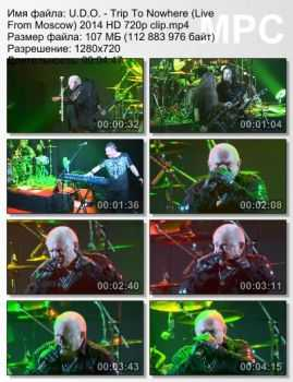 U.D.O. - Trip To Nowhere (Live From Moscow) (2014)