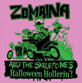 Zombina And The Skeletones - Halloween Hollerin'! (EP) (2003)