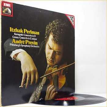 Perlman and Previn - Korngold and Conus - Violin Concerto etc (1981) (Vinyl)